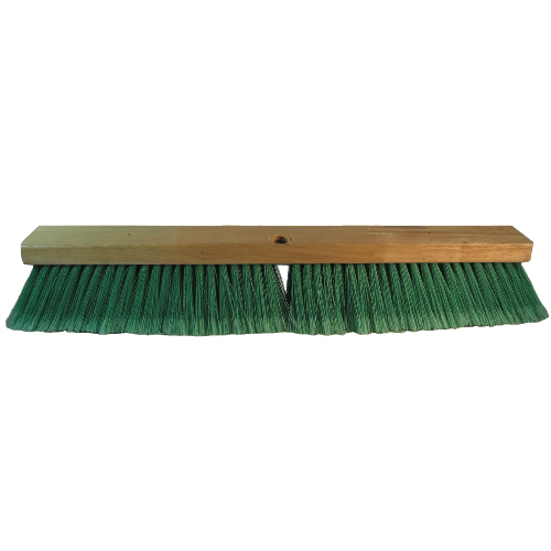 Double Green PET Push Broom