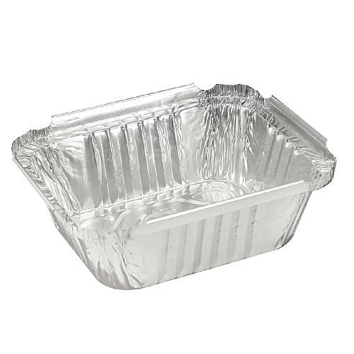 Oblong Aluminum Containers