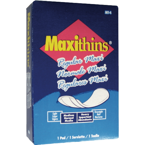 #4 Maxithins® Sanitary Napkins
