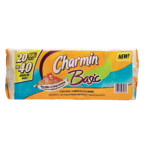 Charmin® Basic Big Roll Bathroom Tissue
