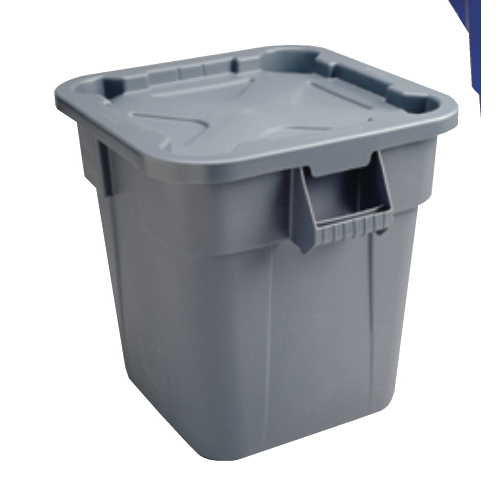 40-Gallon Brute® Square Container & Lid