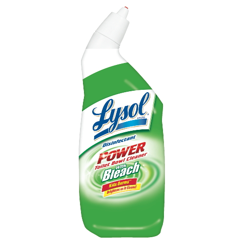 LYSOL® Brand Power Toilet Bowl Cleaner with Bleach
