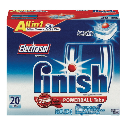 ELECTRASOL® PowerBall® Tabs with Jet Dry® Rinse Agent Automatic