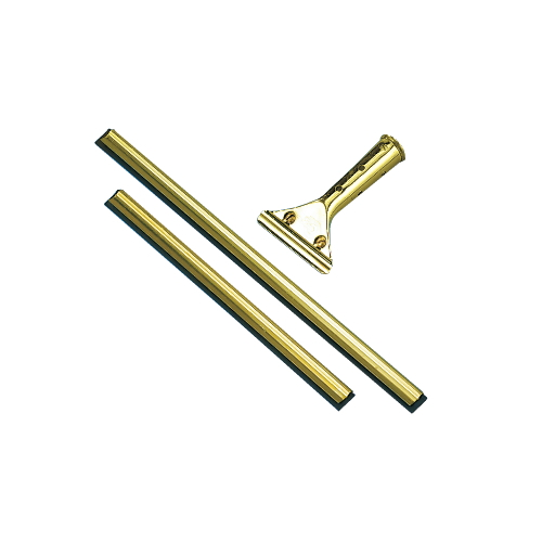 Golden Clip® Window Squeegees: Brass Channel