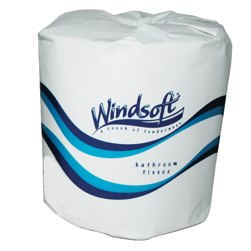Facial Quality Toilet Tissue - One-Ply Bath Tissue