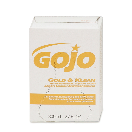 GOJO Gold & Klean Antimicrobial Lotion Soap
